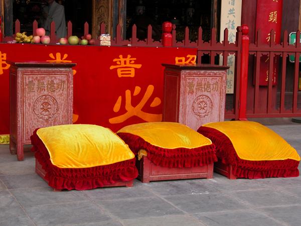 Bamboo Temple Near Kunming, China