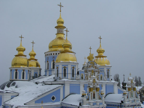 Kyiv, Ukraine - St Michael's Monastery