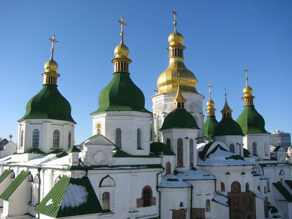 Kyiv, Ukraine - St Sophia's Cathedral