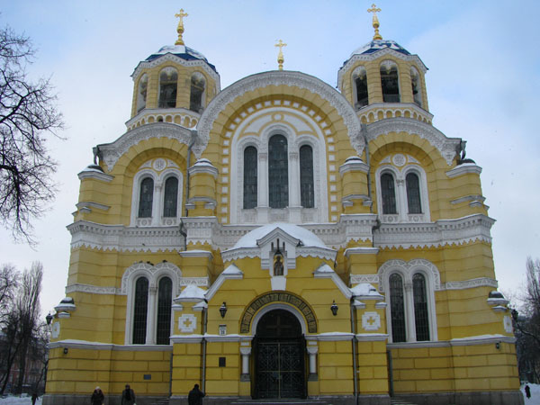 Kyiv, Ukraine - St Volodymyr's Cathedral