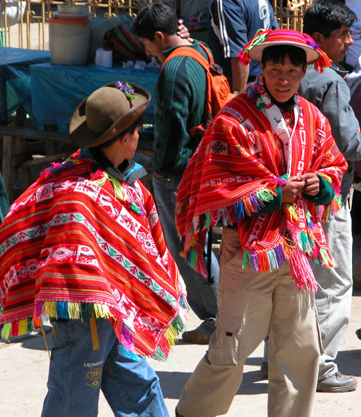 Lares, Peru - Colorful Local Market