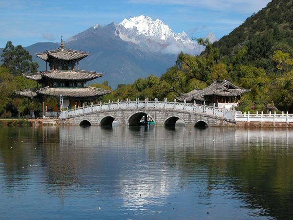 Black Dragon Pool in Lijiang, China