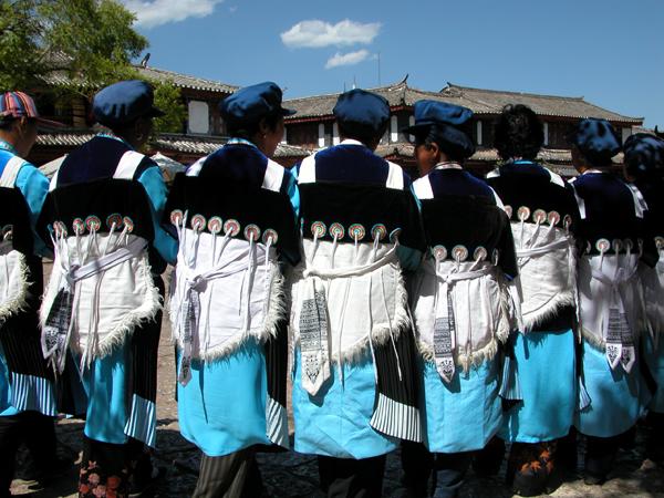Naxi Dress in Lijiang, China