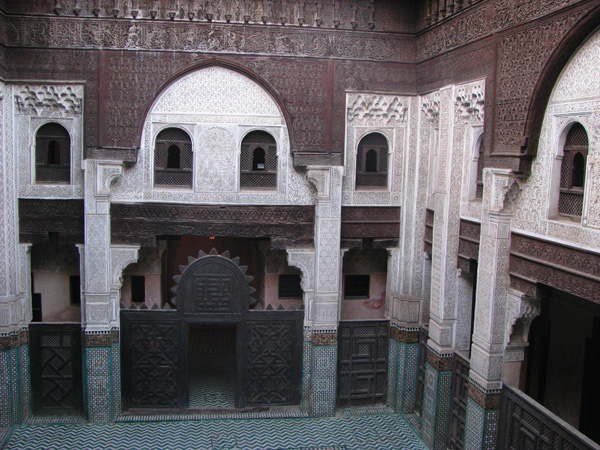 Meknes, Morocco - Bou Inania Madrasa
