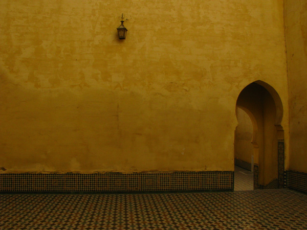 Meknes, Morocco - Mausoleum of Moulay Ismail