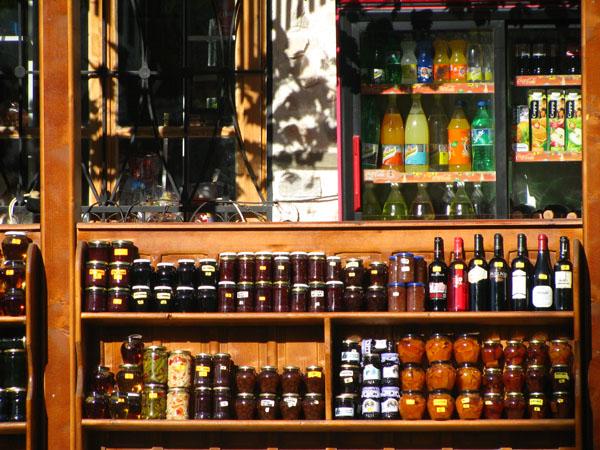 Goods for Sale in Melnik, Bulgaria