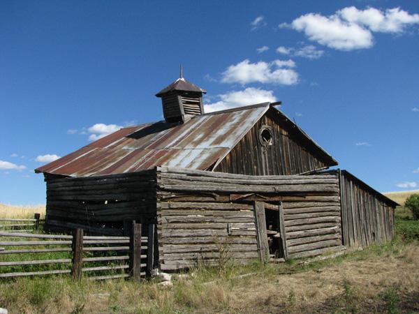 Montana, USA - Old Barn
