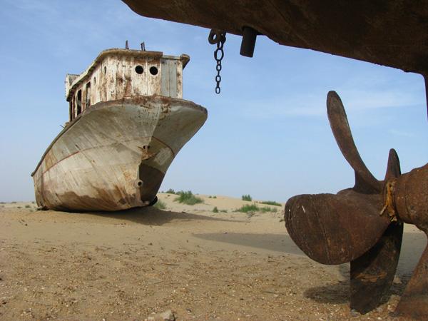 Moynaq, Uzbekistan - Stranded Boats of Aral Sea