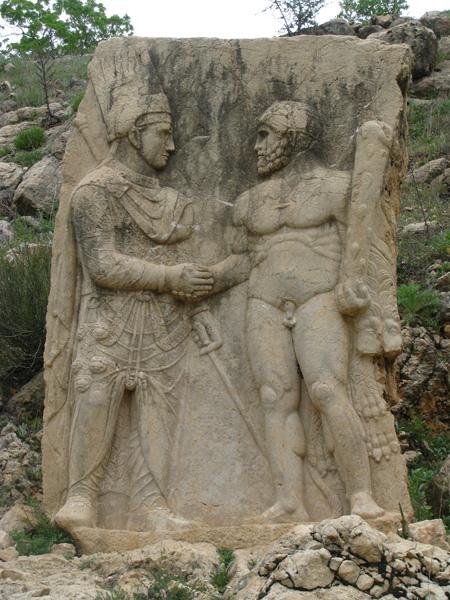 Mt Nemrut, Turkey - Arsameia