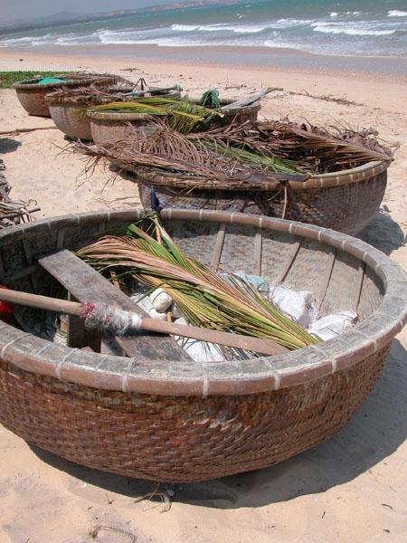 Mui Ne, Vietnam - Coracle Boats