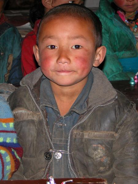 Local Tibetan Student in Rural China
