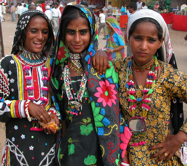 Rajasthani Girls, India