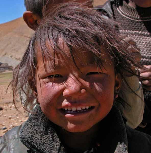 Girl of the Mt. Everest Region
