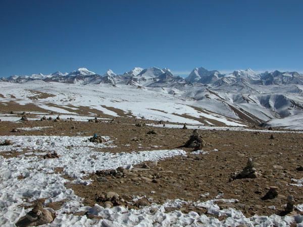View from a 5200 Meter Tibetan Pass