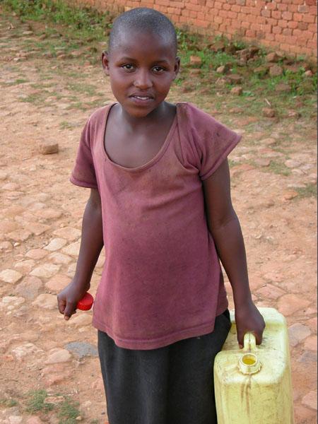 Young Rwandan Boys