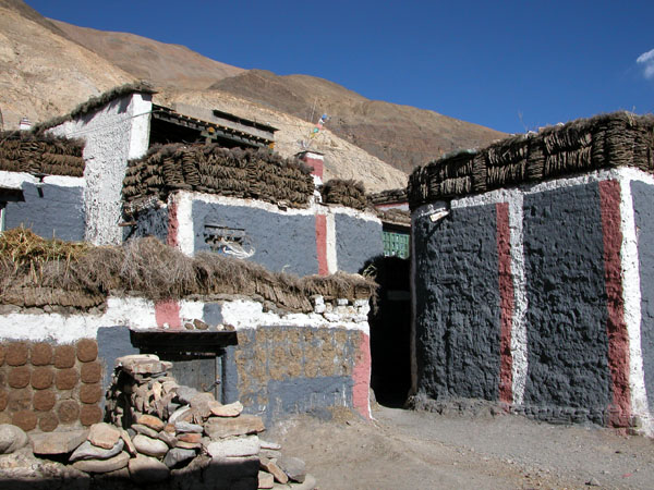 Village of Sakya, Tibet