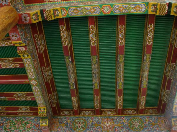 Samarqand, Uzbekistan - Hazrat Hizr Mosque Ceiling