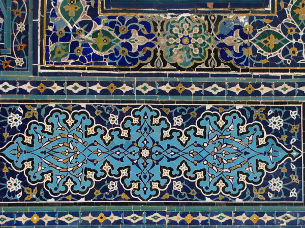 Samarqand, Uzbekistan - Shah i Zinda Detail
