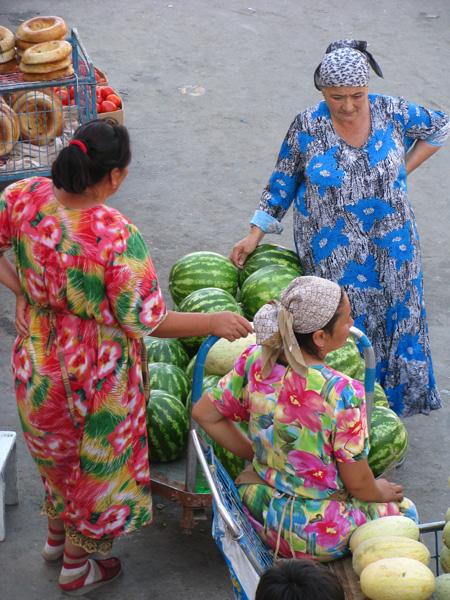 Samarqand, Uzbekistan - Siob Bazaar