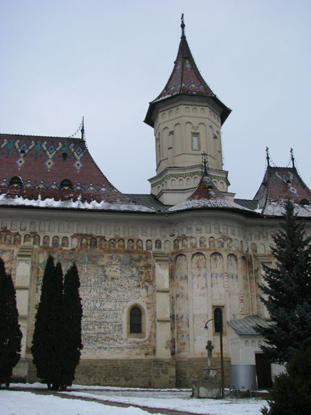 Suceava, Romania - St. John the New Monastery