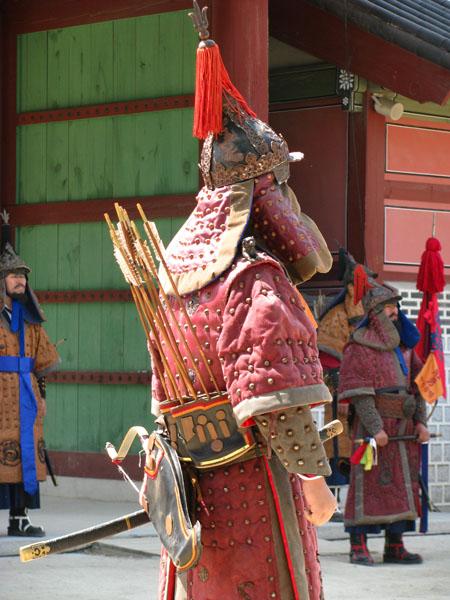Suwon, South Korea - Hwaseong Haenggung Changing of the Guards Performance