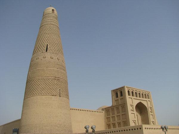 Turpan, China - Emin Minaret