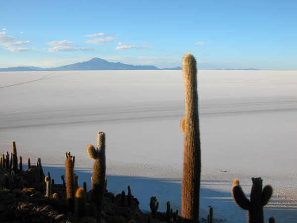 Uyuni Salt Plain in Bolivia