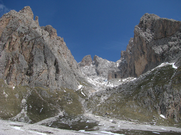 Italian Dolomites of Val Gardena