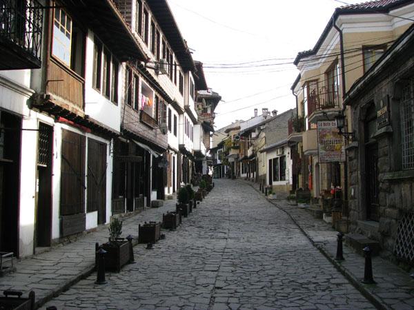 Town of Veliko Tarnovo, Bulgaria