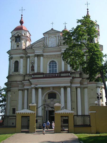 Vilnius, Lithuania - Church of Sts Peter and Paul