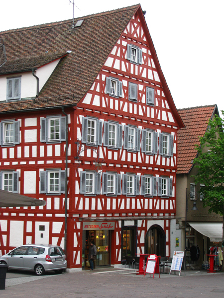 Waiblingen, Germany - Fachwerk Architecture