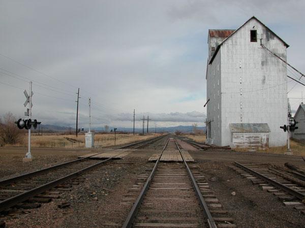 Granary of Willow Creek, Montana - USA