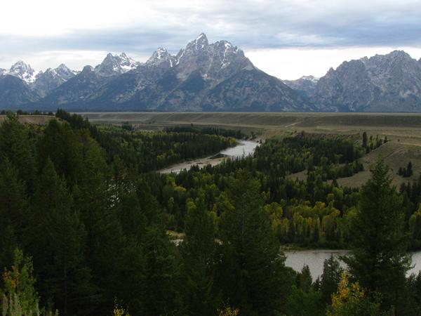 Wyoming - Teton Mountains