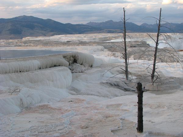Wyoming - Yellowstone National Park Mammoth Hot Springs