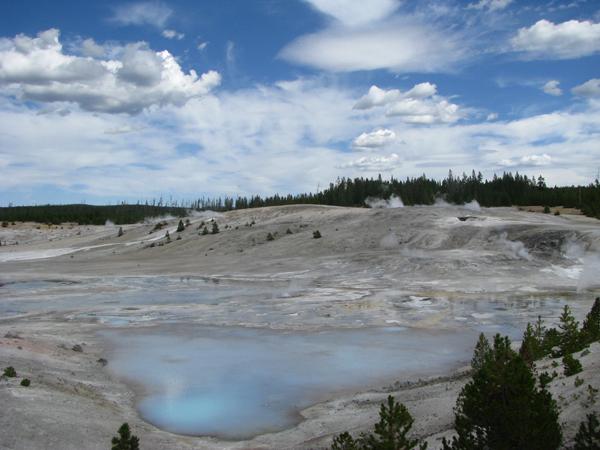 Wyoming - Yellowstone National Park Geyser Basin