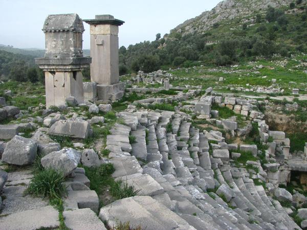Xanthos, Turkey - Ruins