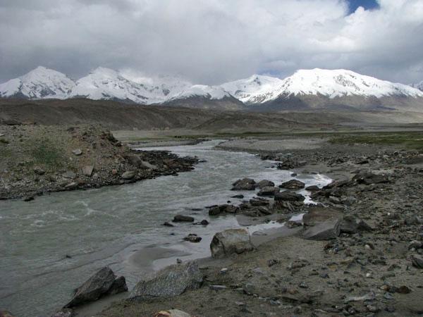 Xinjiang, China - Karakul Lake Region