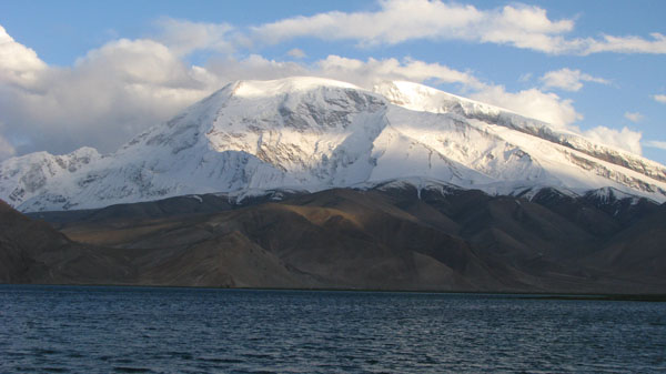 Xinjiang, China - Karakul Lake